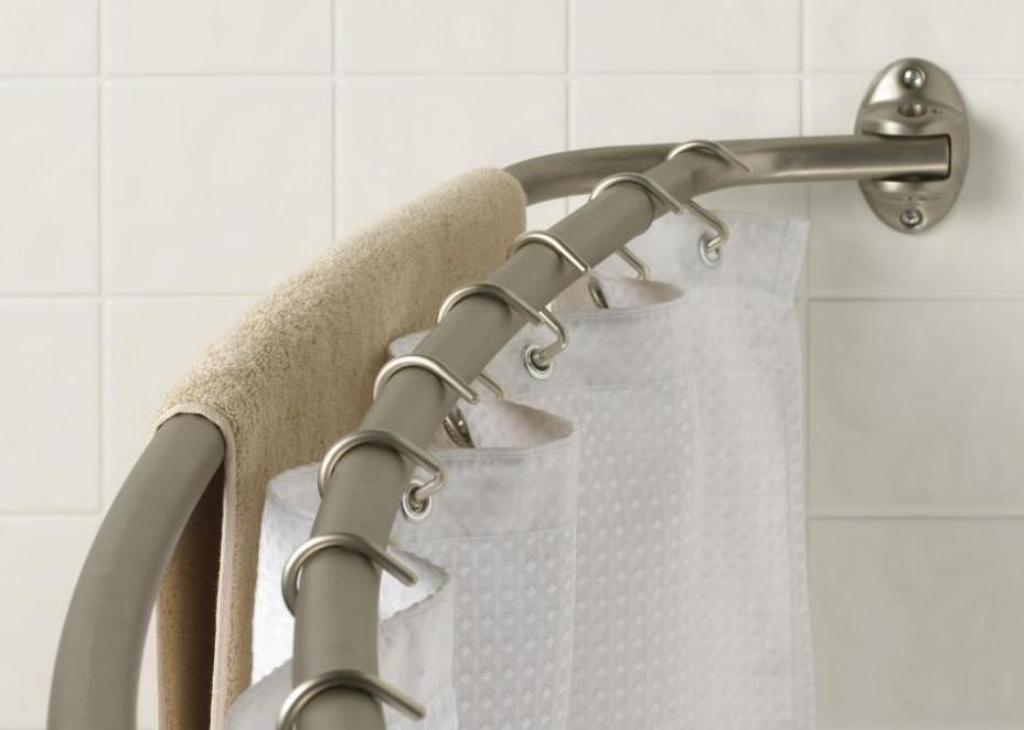 Best Shower Curtain Rod For Tile Reviews Island